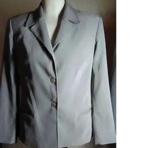 Laundry By Shelli Segal Green Blazer Size 10